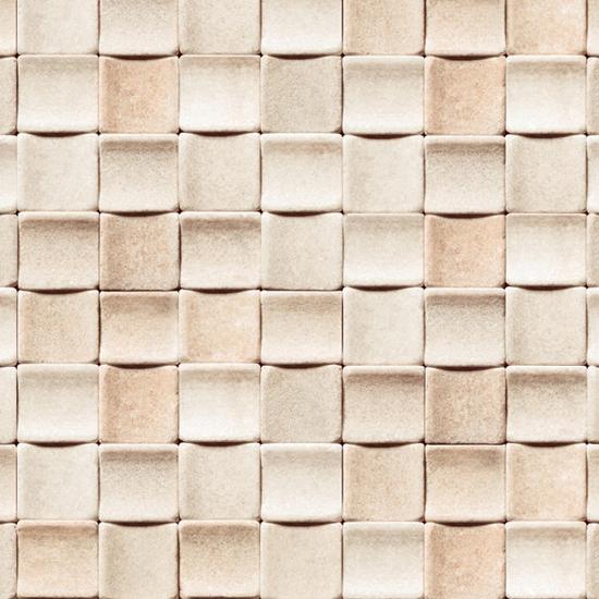 Wallpaper Tile Peel and Stick Tile Apricot Self Adhesive Vinyl 550x550