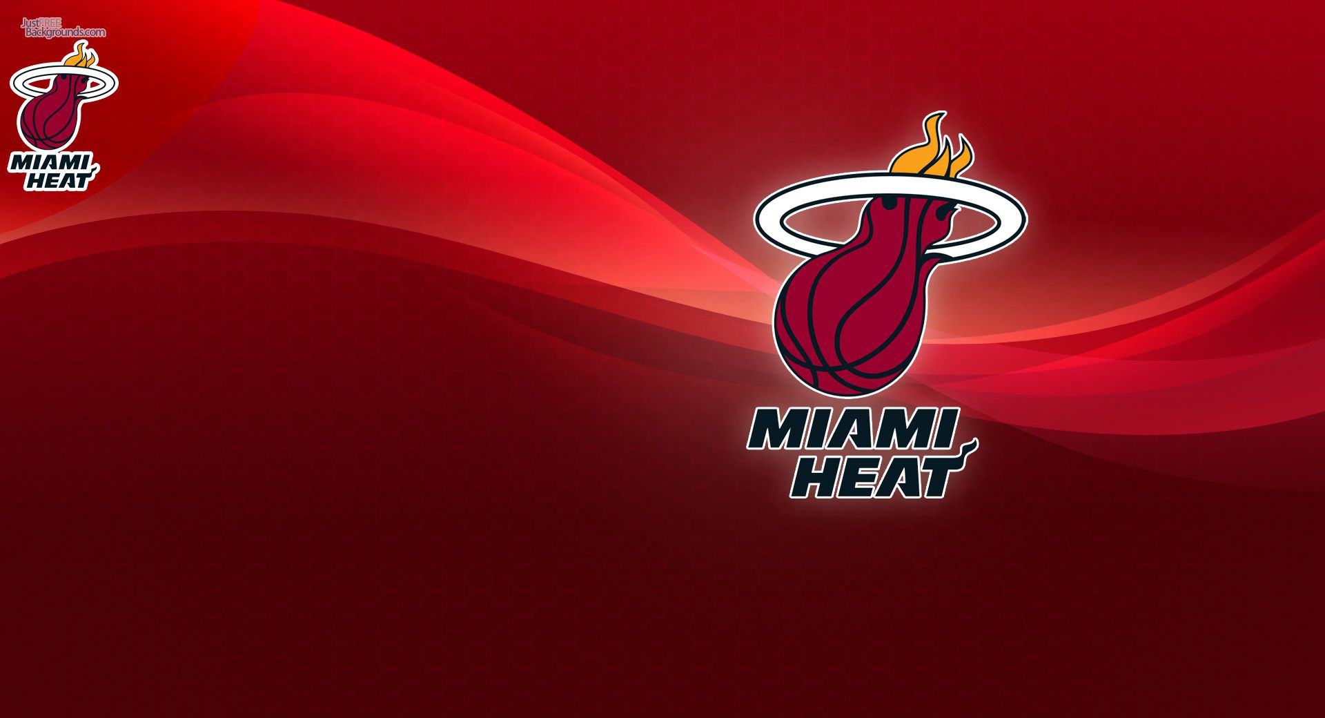 Miami Heat Logo Wallpapers 2015 1920x1040