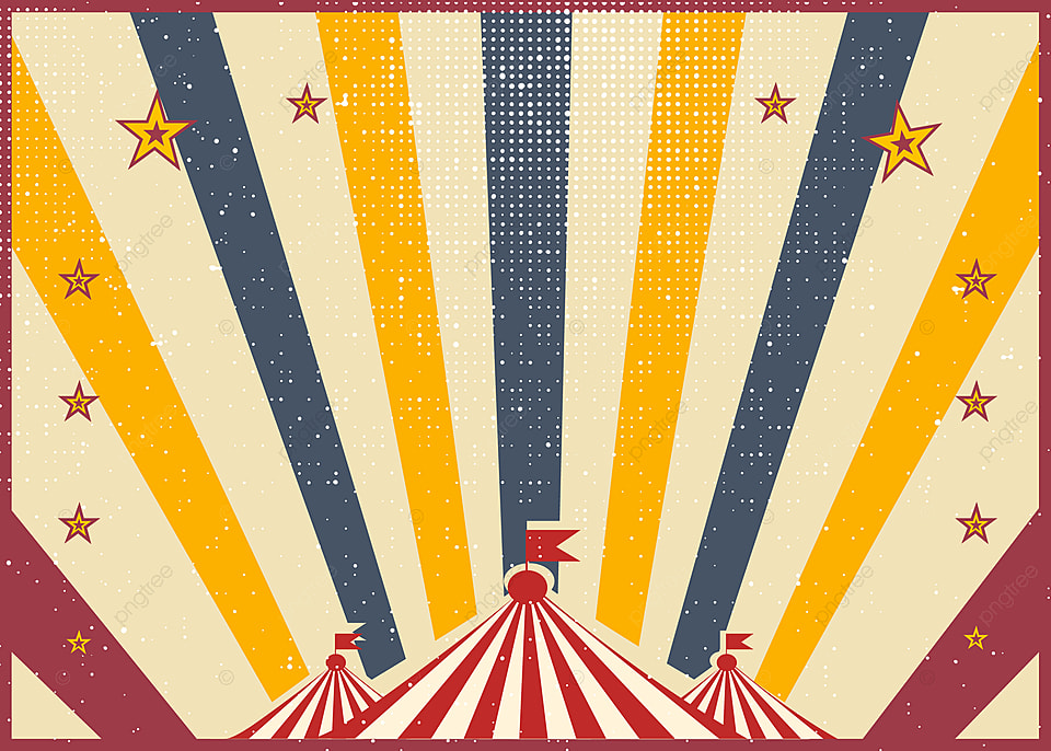 Circus Background Circusbackground Color Retro Background Image 960x686