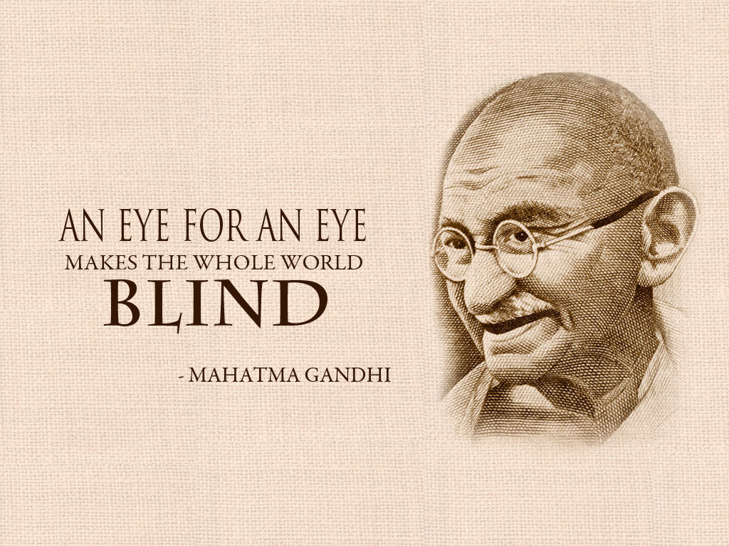 Mahatma Gandhi Wallpaper for Desktop Download 1024x768