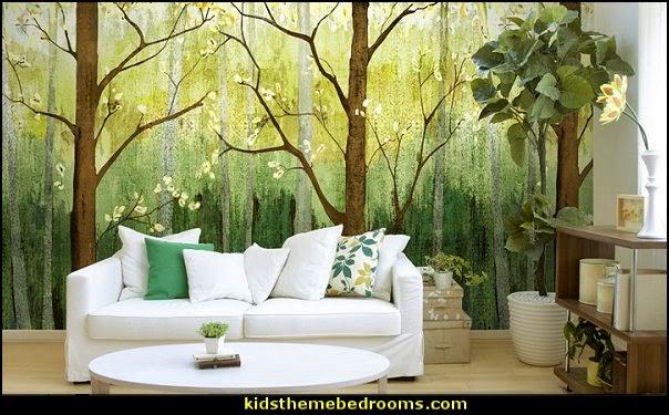 50 Wallpaper Murals Trees On Wallpapersafari