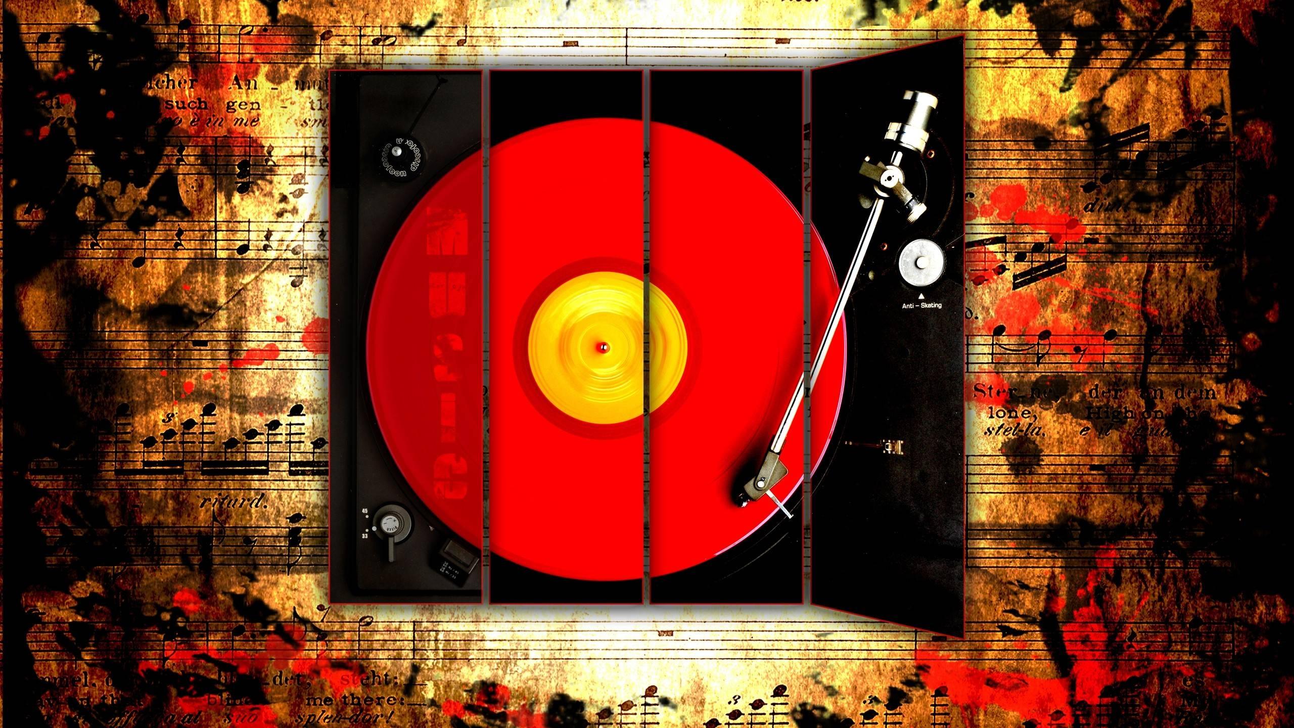 Music Vintage 25602151440 Wallpaper 1653743 2560x1440