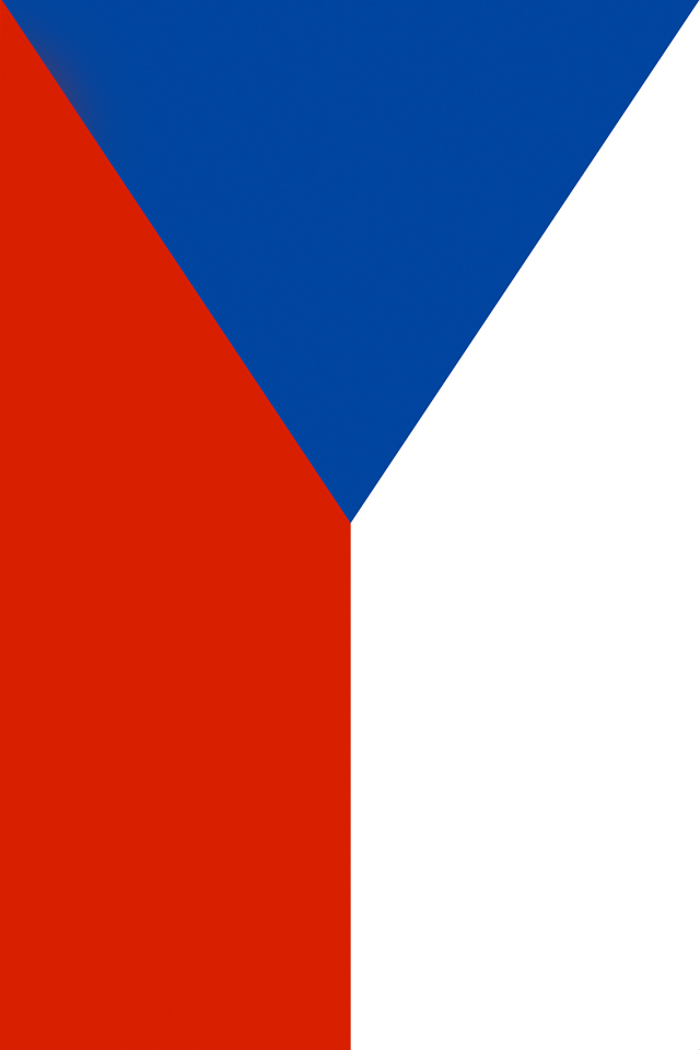 Czech Republic Flag iPhone Wallpaper HD 640x960