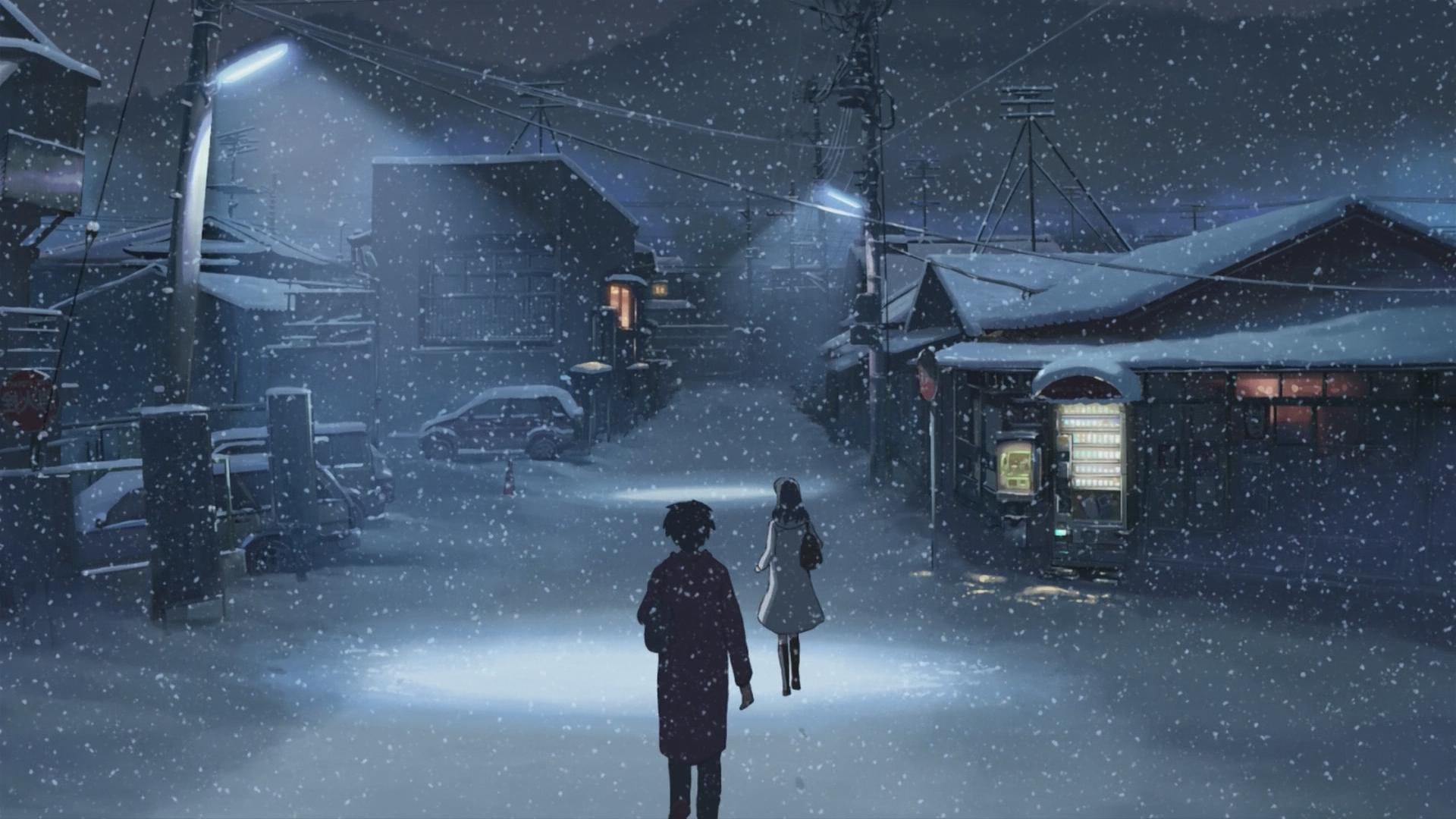 Anime Winter HD Wallpaper Background Image 1920x1080 ID 1920x1080