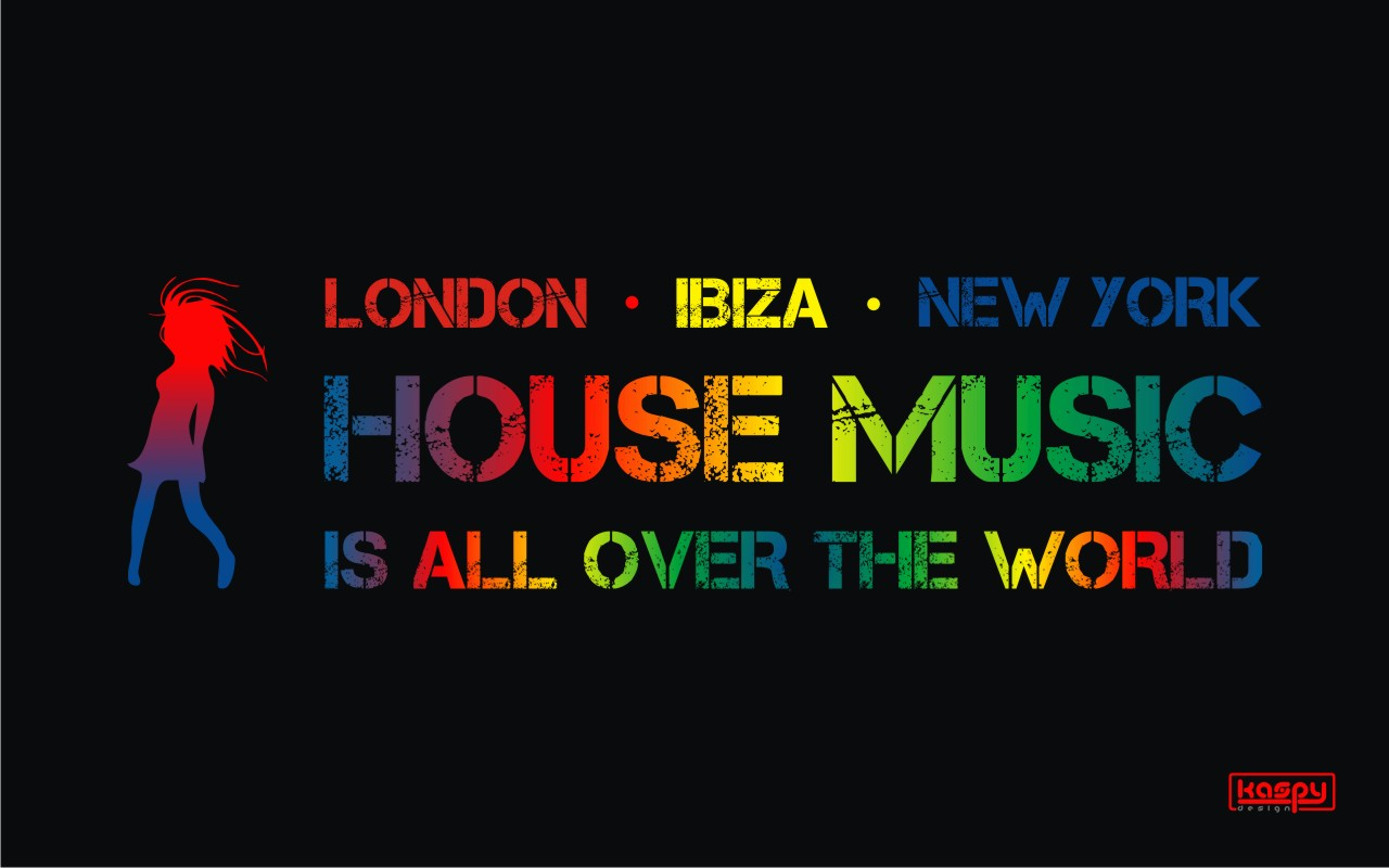 House music wallpaper wallpapersafari for House music collection