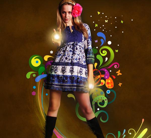 Create Fantasy Wallpaper in Photoshop Photoshop Tutorials 600x549