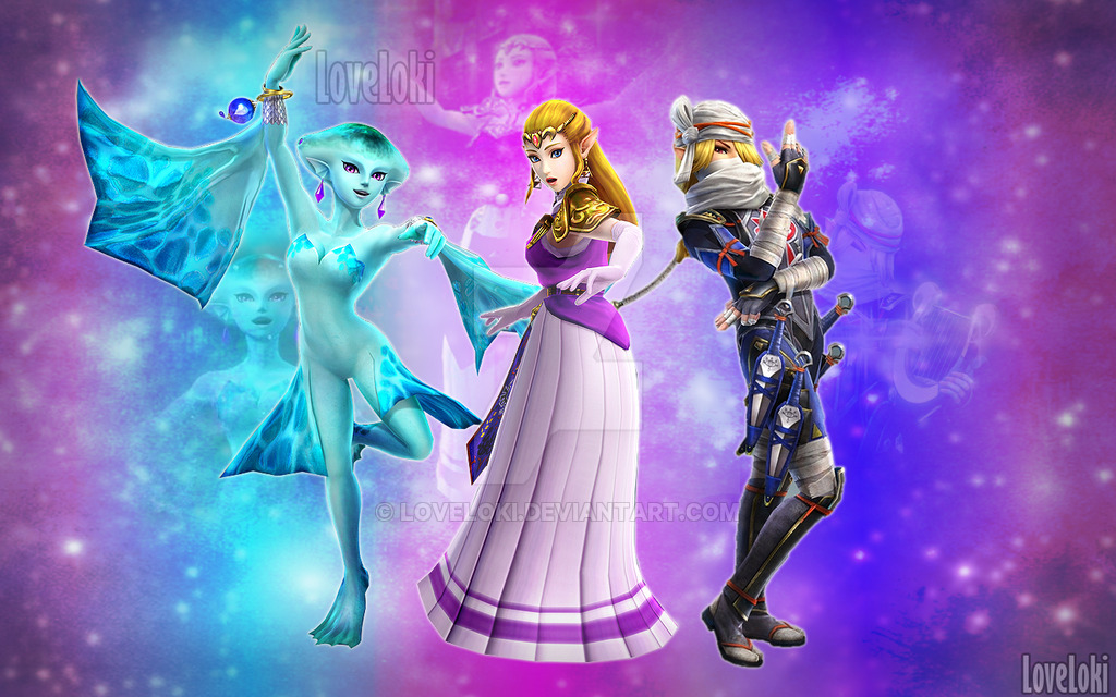 link and sheik wallpaper - photo #16