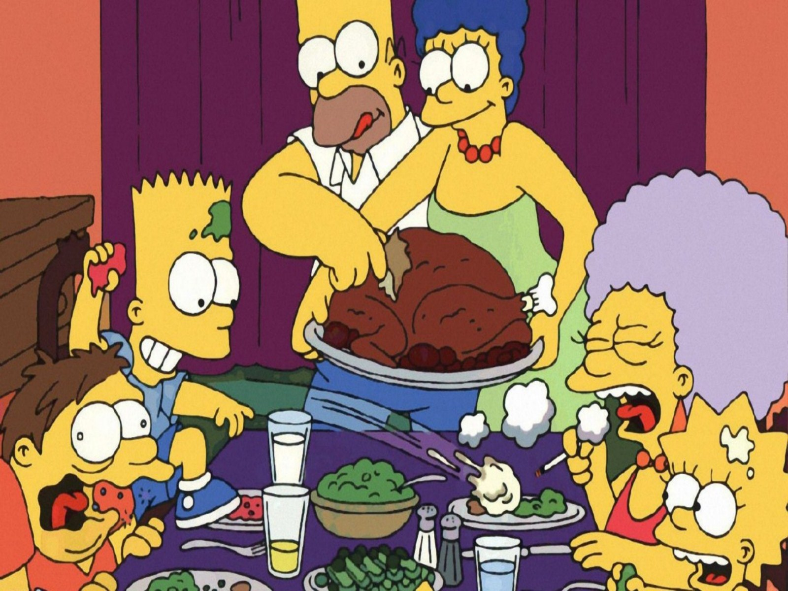 Pics Photos   Funny Thanksgiving Wallpapers Formal 1600x1200