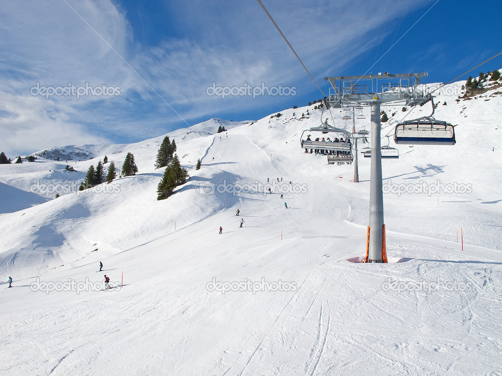 skiing slope stock photo fedor selivanov skiing slope stock image 1024x768