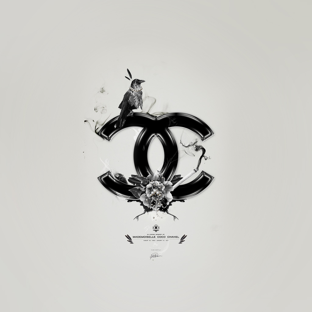 Chanel Logo Wallpapers 1024x1024