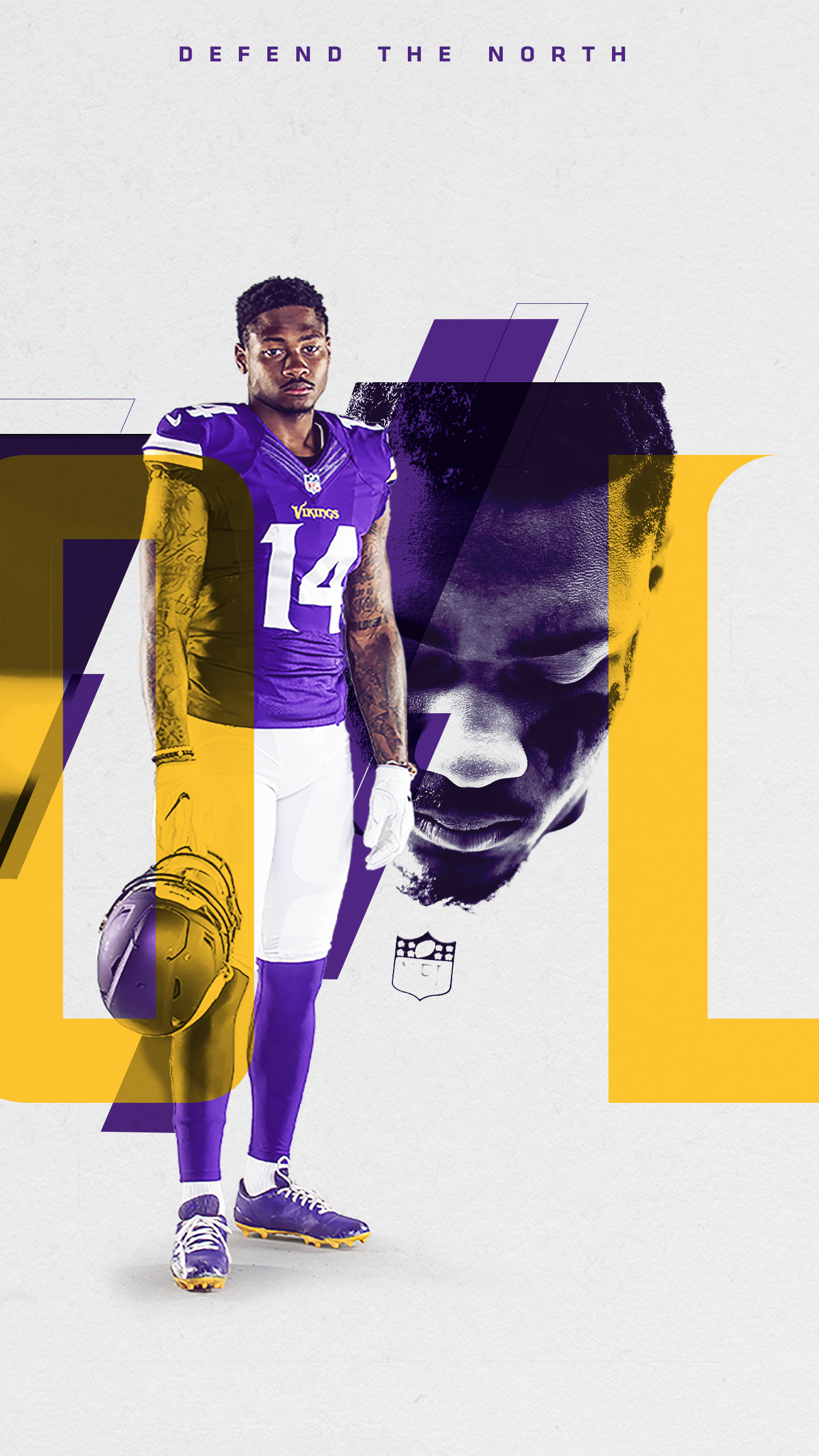 Mobile Wallpaper   Official website of the Minnesota Vikings 1440x2560