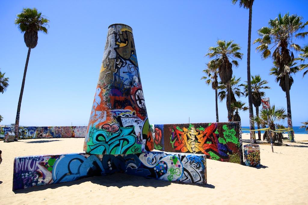 Venice Beach Boardwalk Shops Food Art Street Performers 1024x683