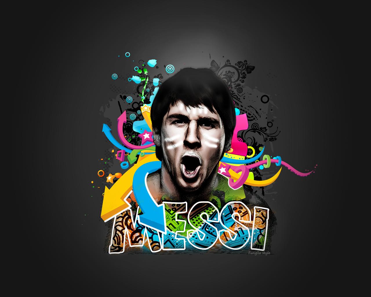 top footballer wallpaper Lionel Messi HD FCB Wallpapers 1280x1024