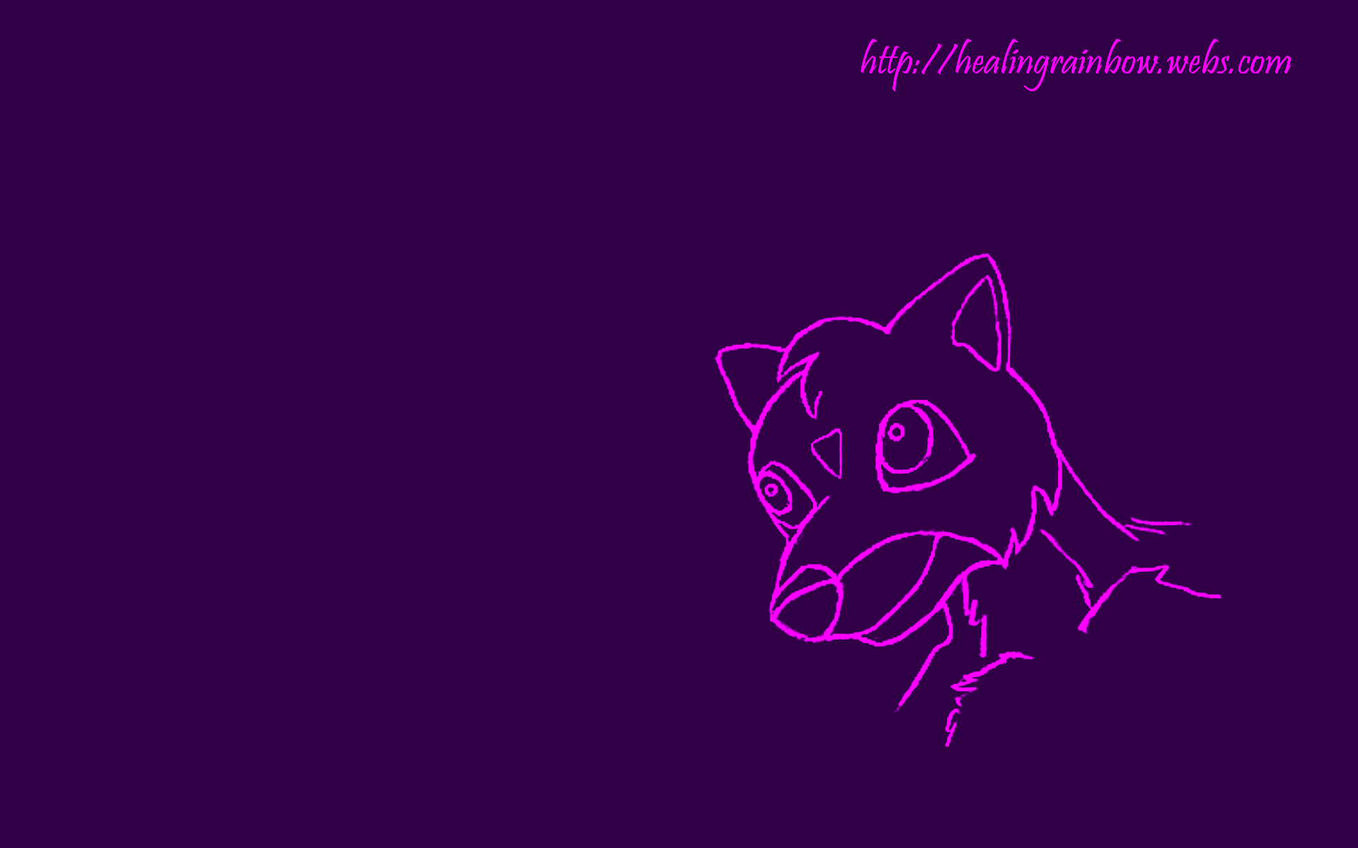cute wallpapers purple creature background 1920x1200 1920x1200