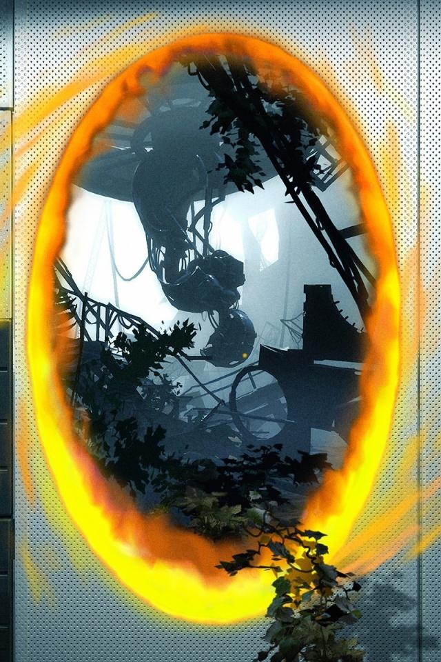 640x960 Portal 2 Iphone 4 wallpaper