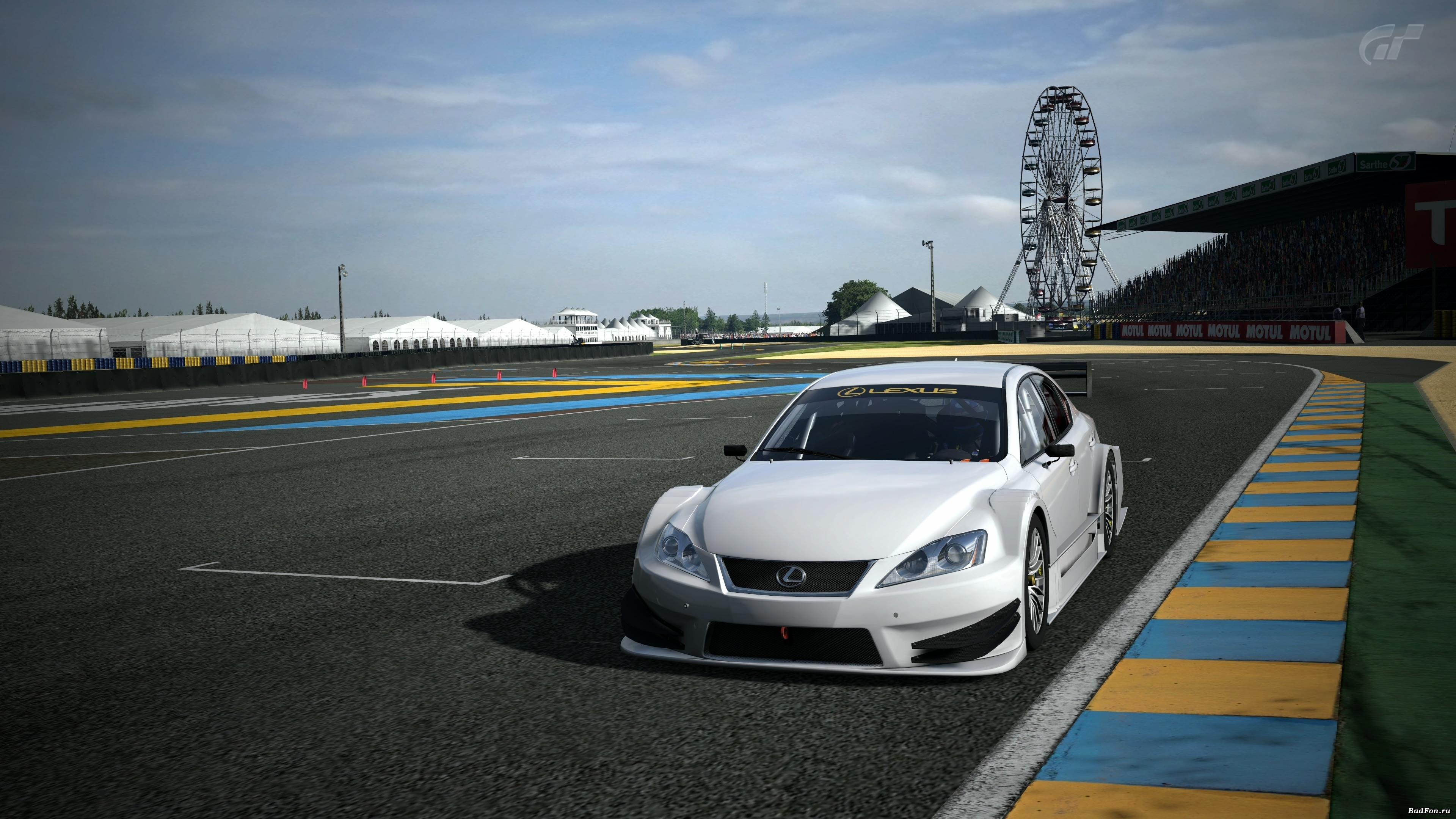 White Race Car 4K 38402160 Wallpaper 38402160 pixel 3840x2160