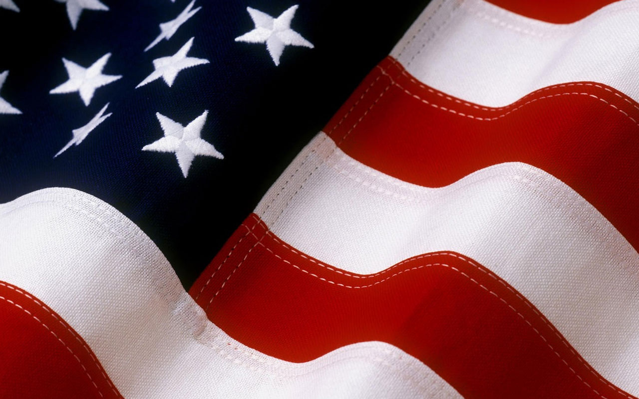 Pics Photos   American Flag Background Images 1280x800