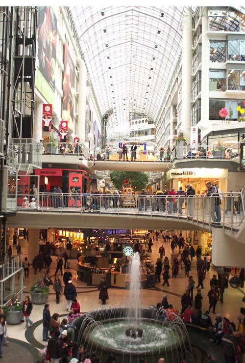 Toronto Malls Eaton Centre l toronto eaton centre 409jpg 500x739