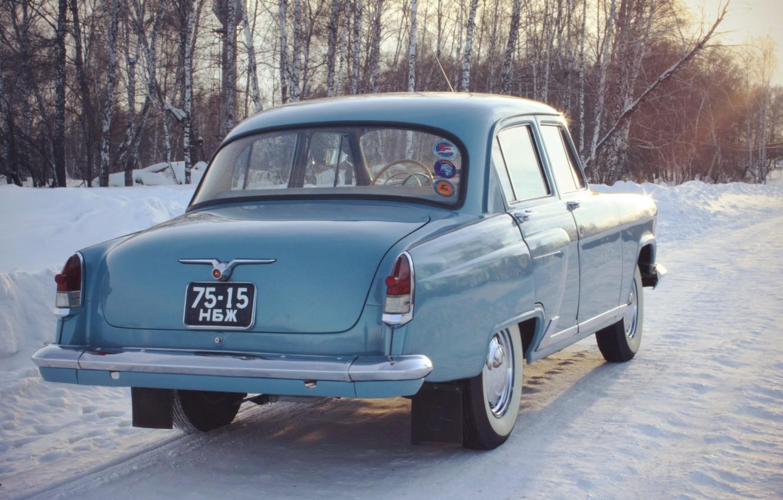 Wallpaper snow retro background Wallpaper USSR car legend 1332x850