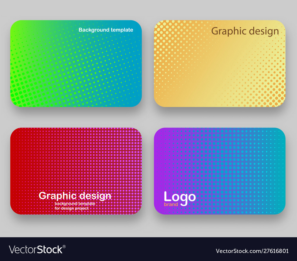 Covers design background for a credit card Vector Image 1000x879