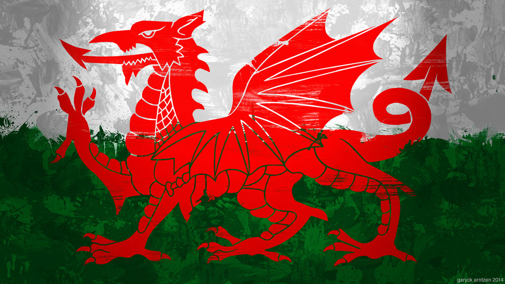 Welsh Flag Wallpaper Welsh flag wallpaper by 1024x576