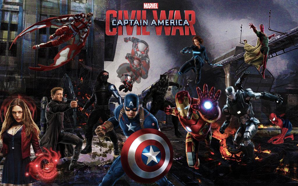 Captain America 3 Civil War Wallpaper by darkmudkip6 on DeviantArt