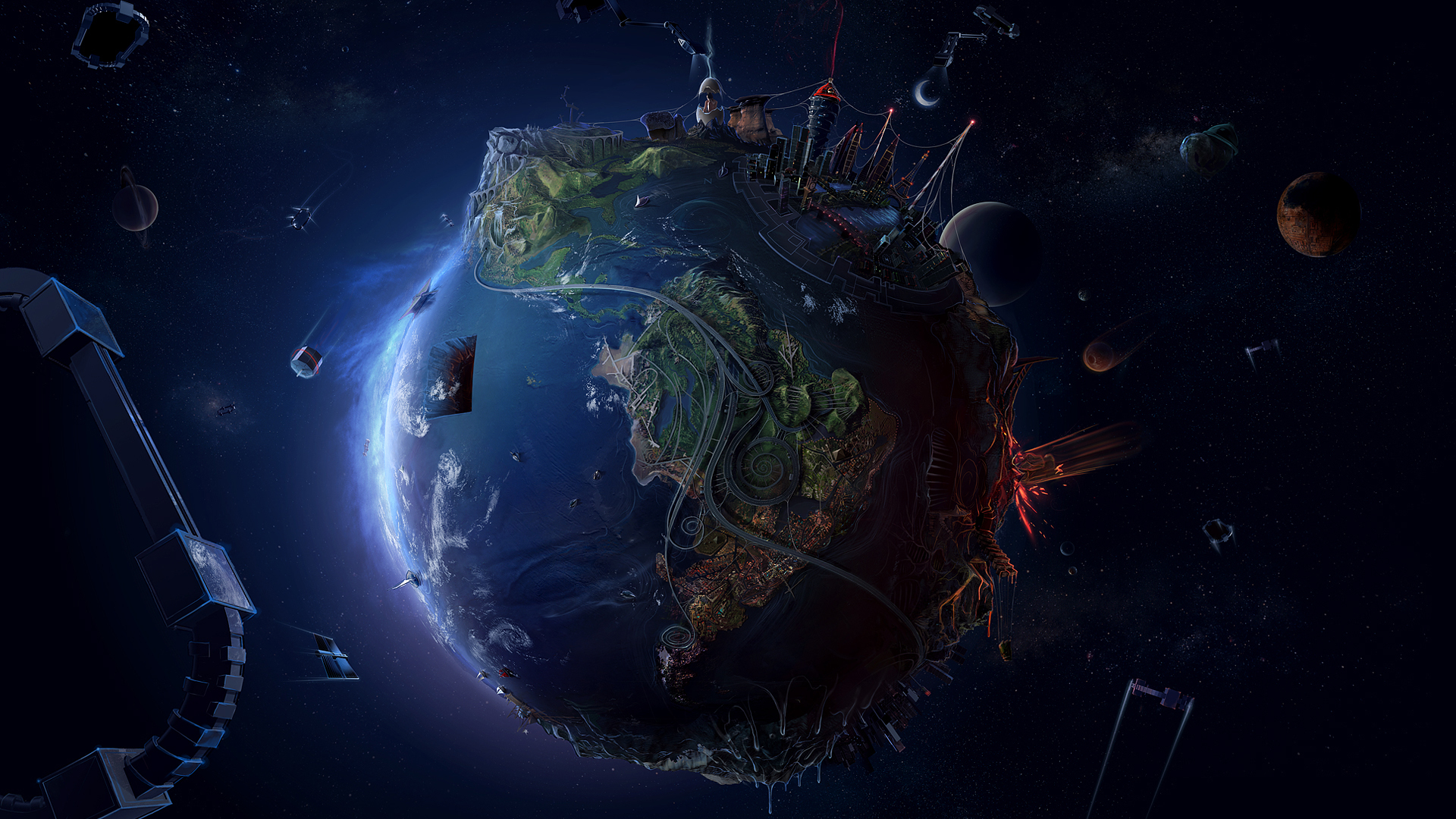 hd wallpapers 1080p space wallpapers55com   Best Wallpapers for PCs 1920x1080