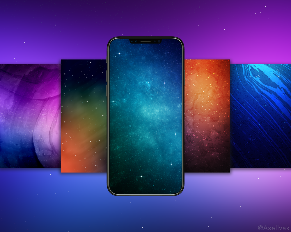 iPhone X Wallpaper Pack 1 1000x800