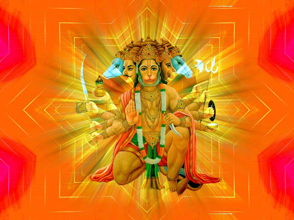 Panchmukhi Hanuman HD Wallpapers Hindu God HD Wallpapers 1024x768