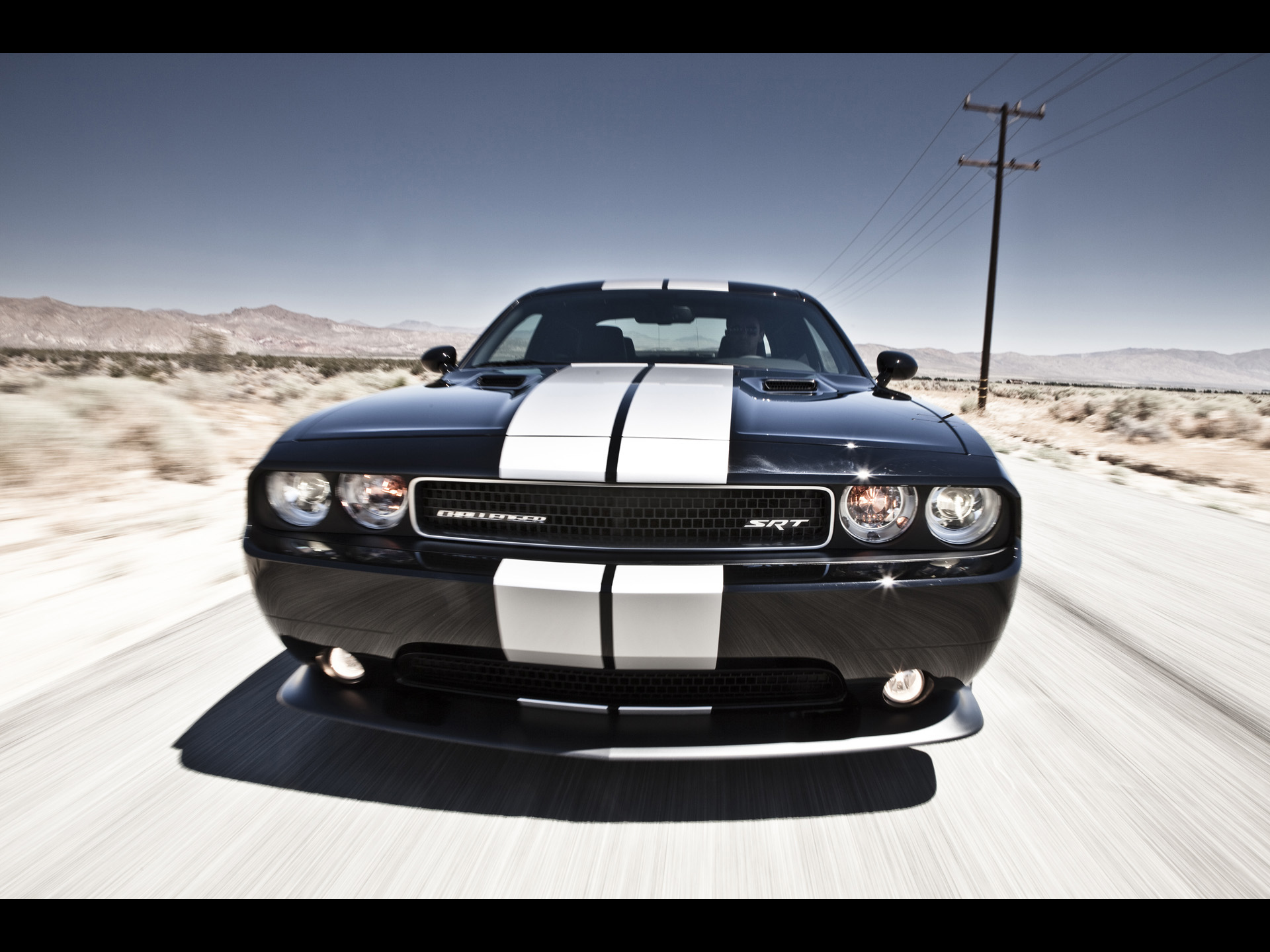 2012 Dodge Challenger SRT8 392   Front Speed   1920x1440   Wallpaper 1920x1440