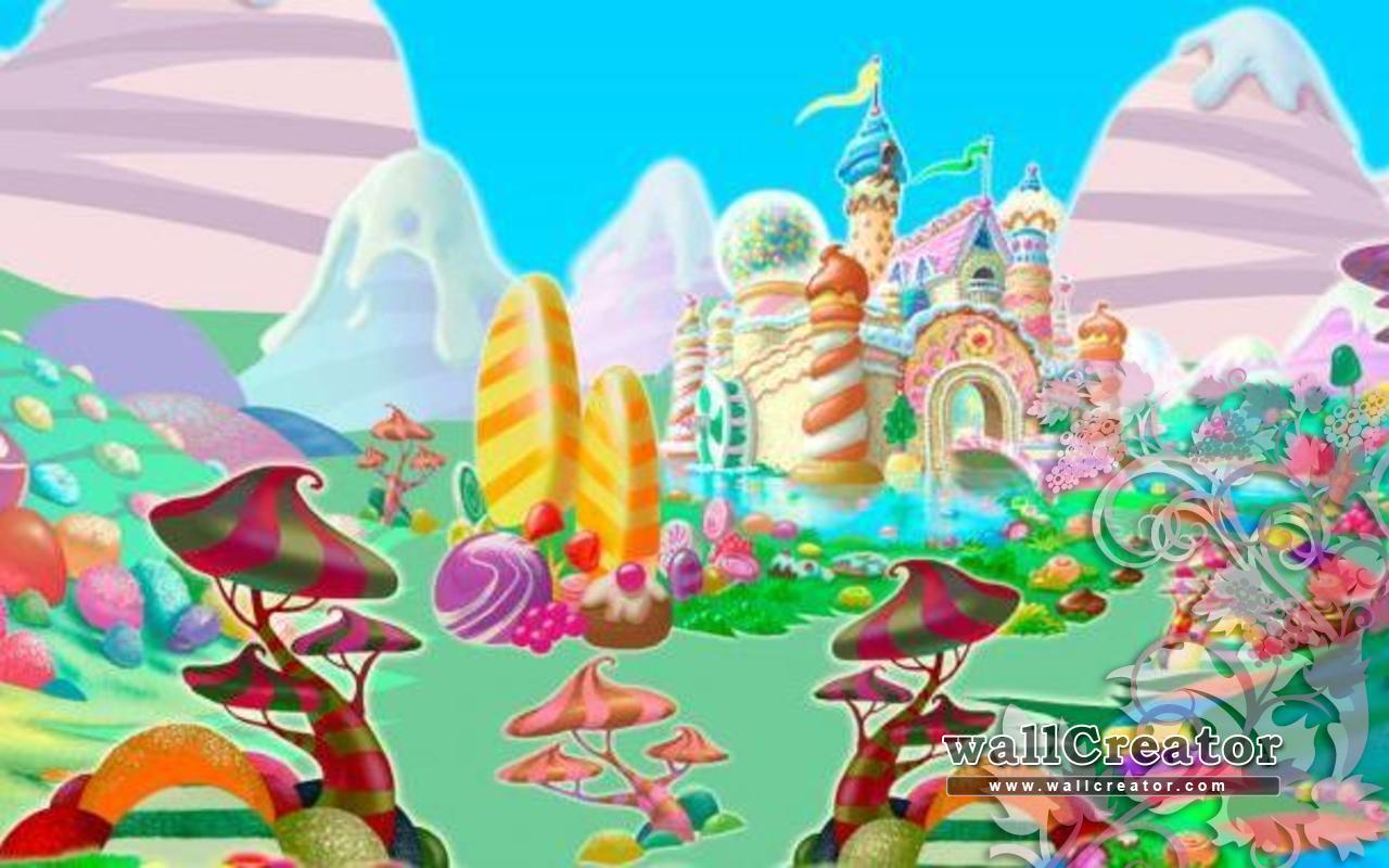 Candyland Background Wallpapersafari