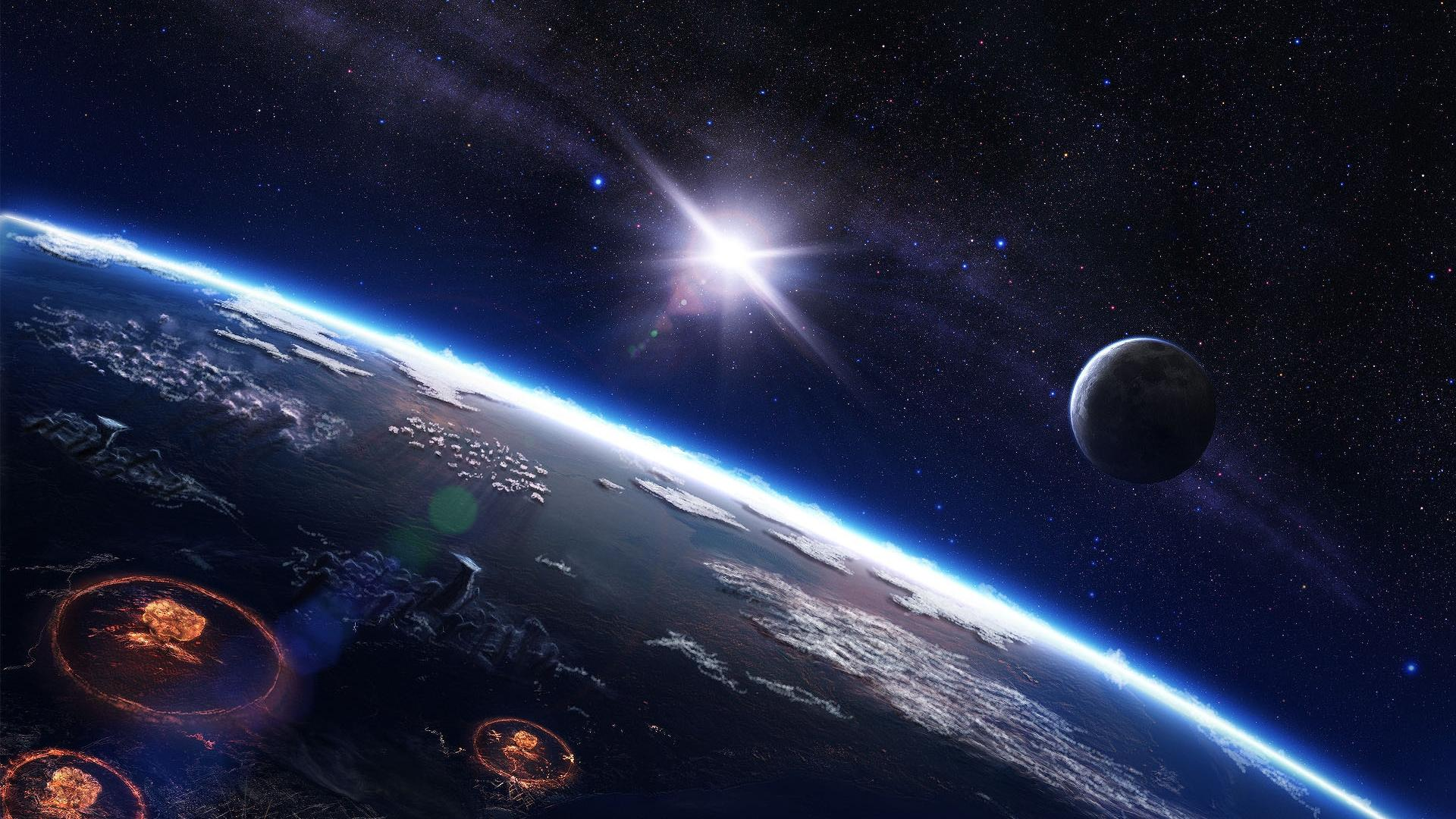 Wallpaper 1 of 1   Out In Space HD Planets Photos HD Wallpapers 1920x1080