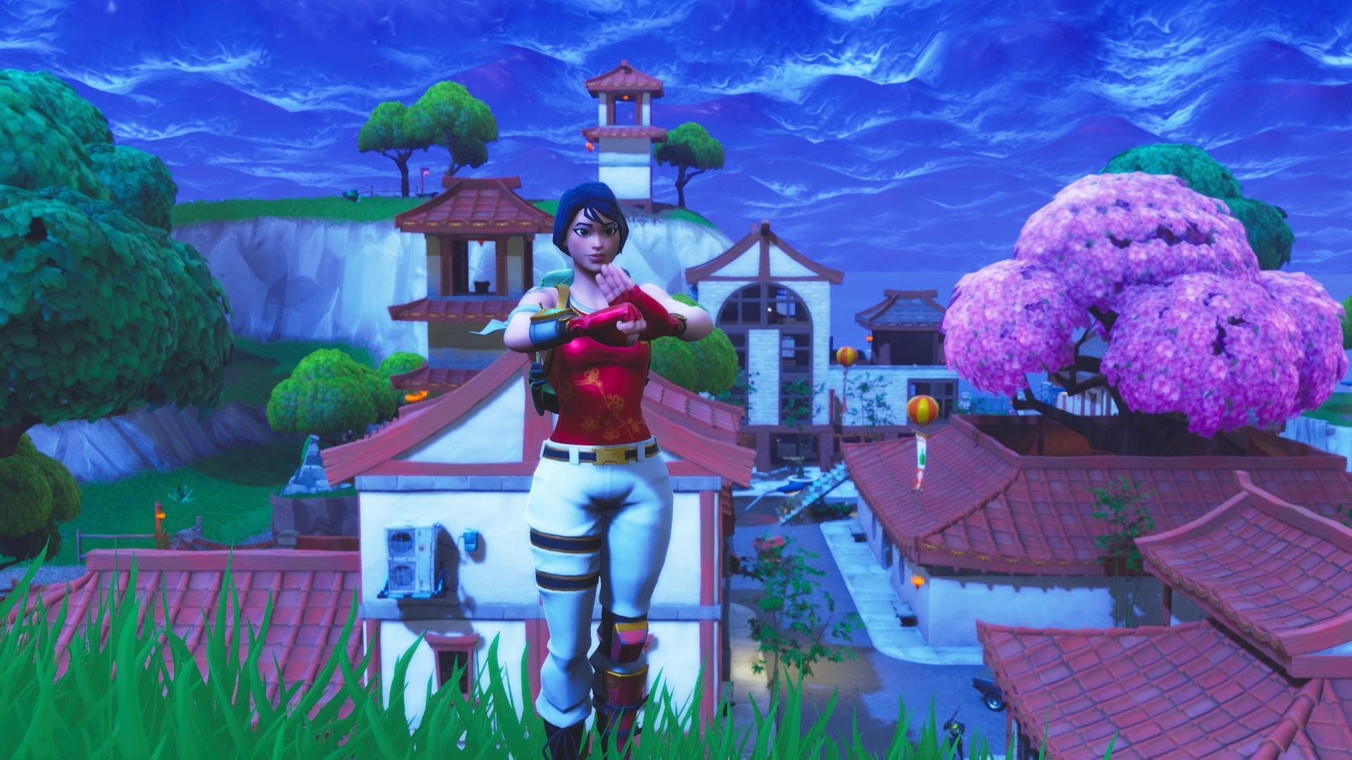 Wallpaper] Scarlet the Defender Hope you all enjoy FortNiteBR 1920x1080
