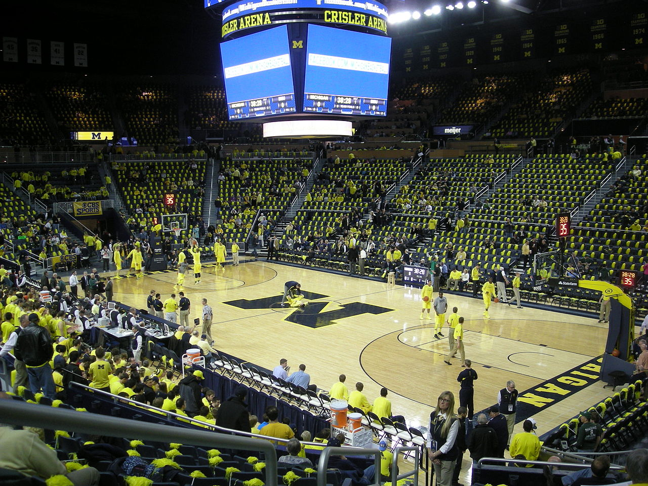 1280px Michigan State vs Michigan men27s basketball 2013 01 Crisler 1280x960