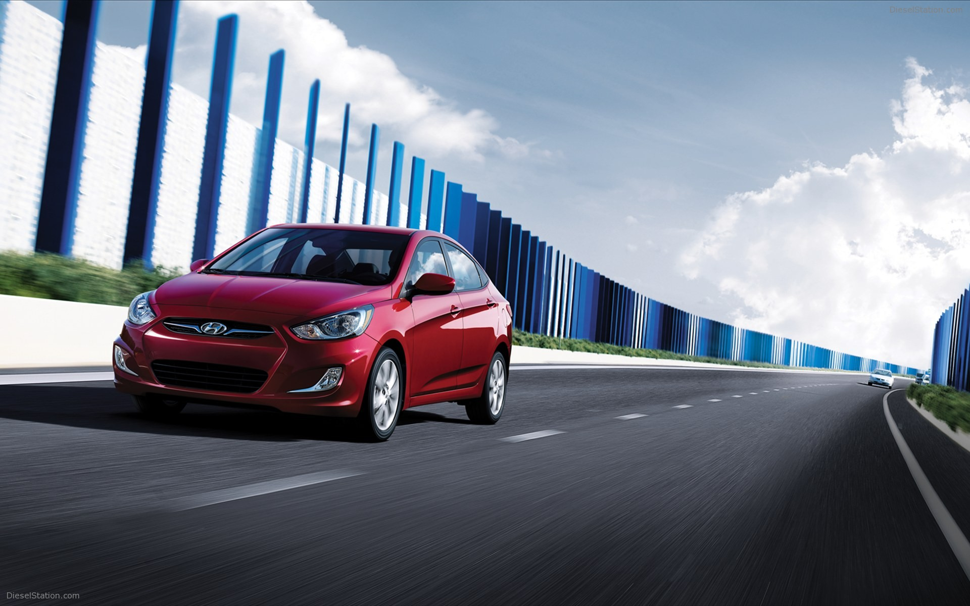 Hyundai Accent 2012 Widescreen Exotic Car Wallpapers 14 of 44 1920x1200
