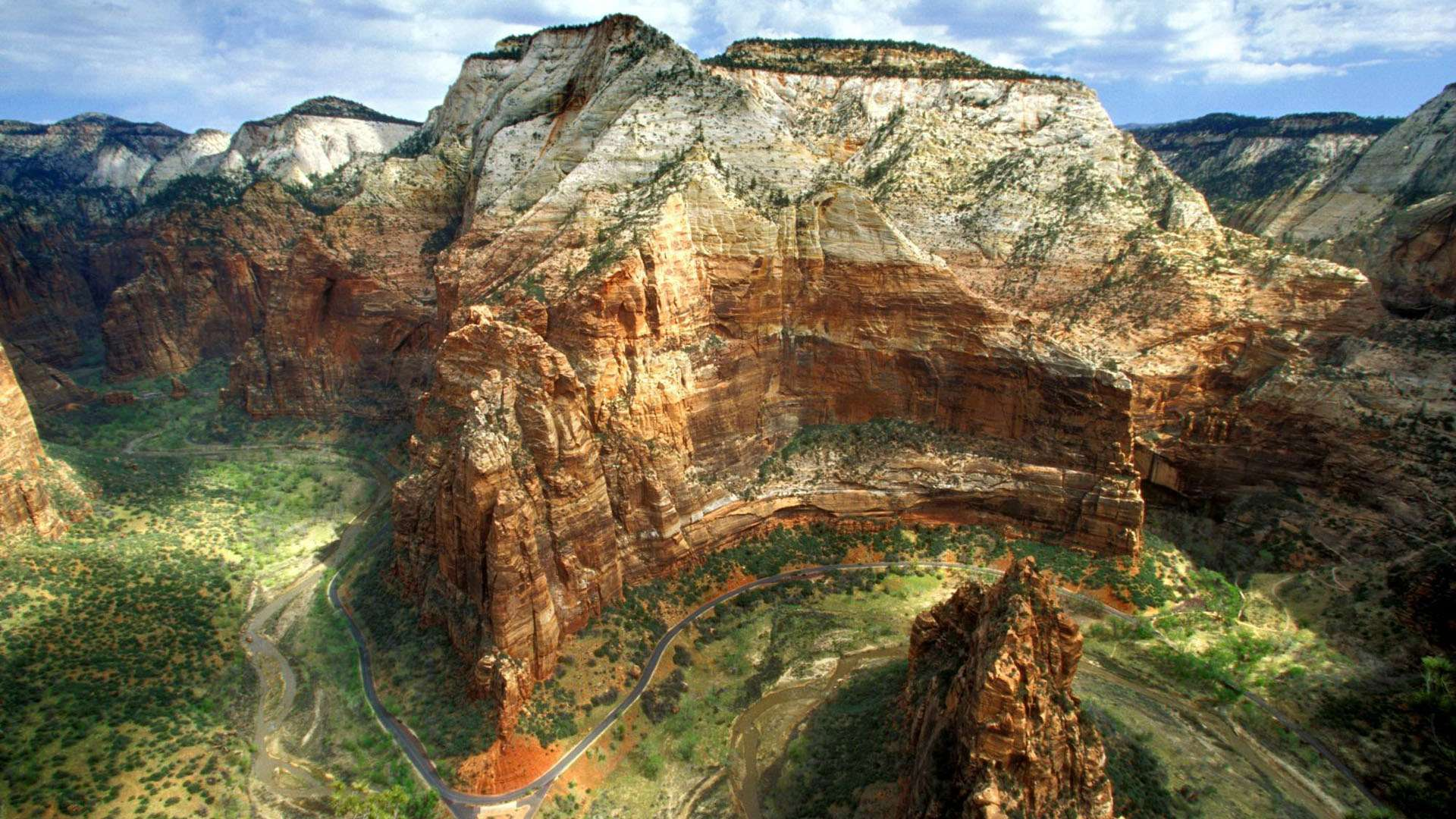 Walls in Zion National Park Utah HD Wallpaper FullHDWpp   Full HD 1920x1080