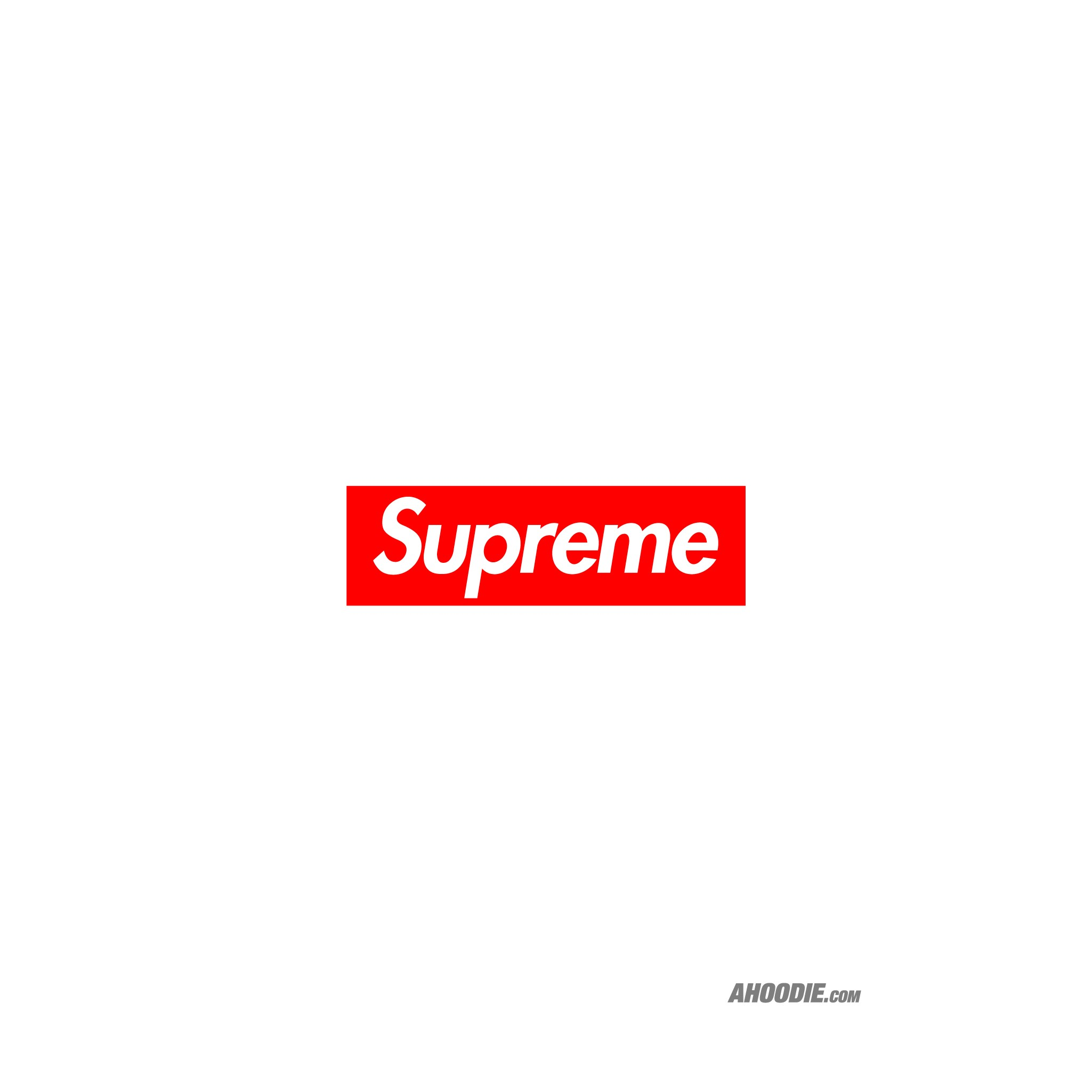 Ahoodie Supreme classic box logo wallpaper 2049x2049