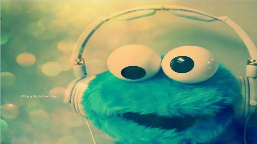 Cute Cookie Monster Wallpaper Hd By Yazminick 900x506