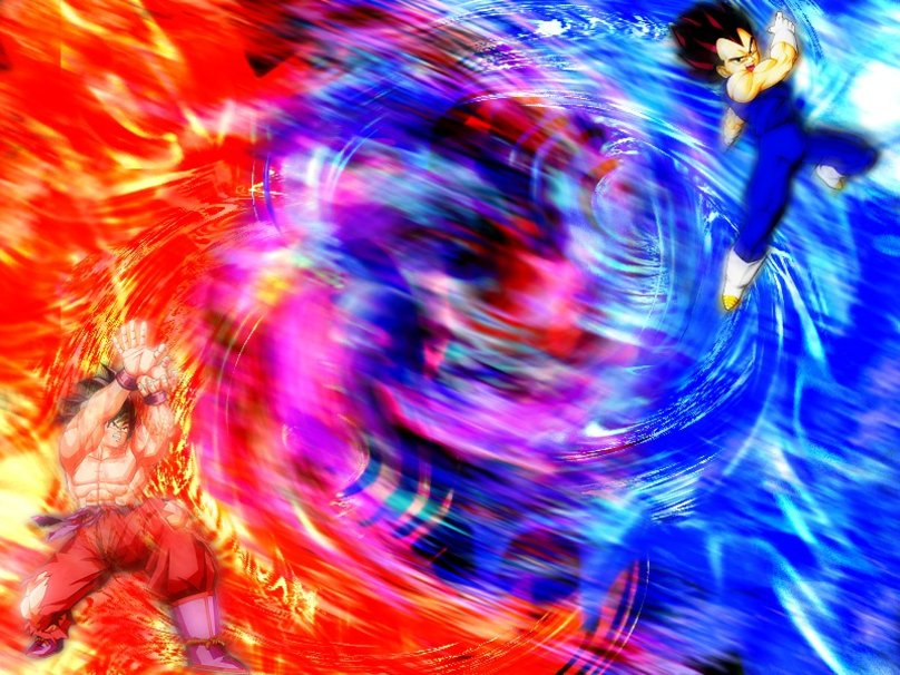 Goku Vs Vegeta wallpaper   ForWallpapercom 808x606
