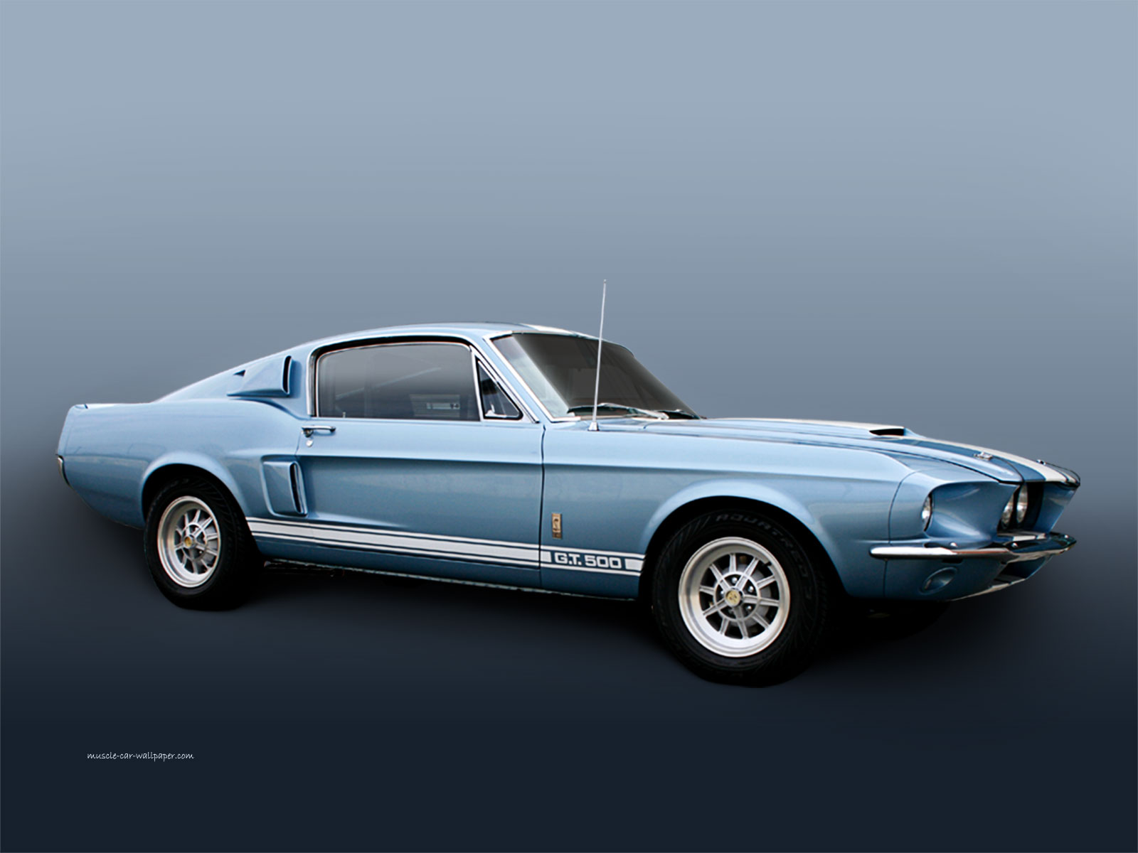 1967 Mustang Shelby GT 500 Muscle Car Wallpaper 1600 06 1600x1200
