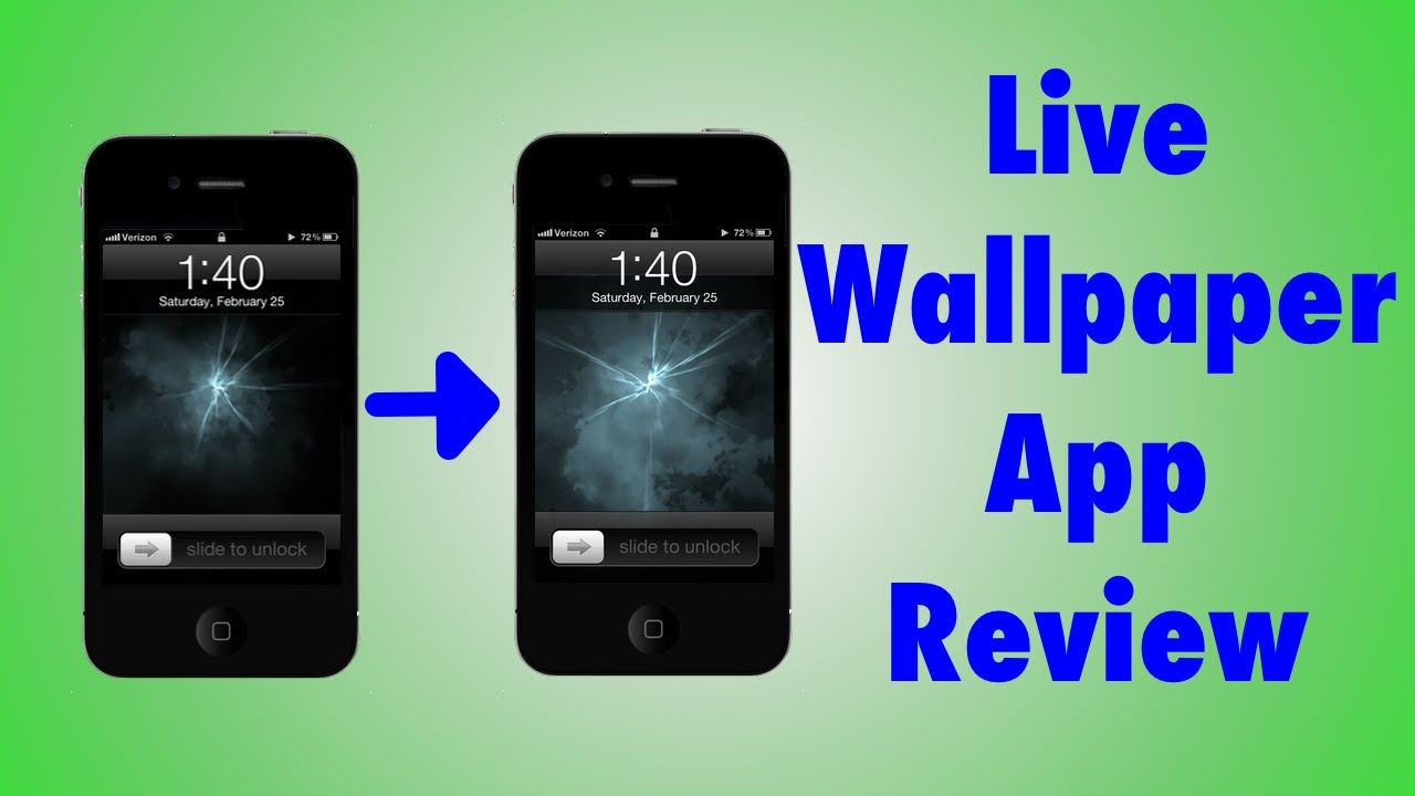 How To Have A Moving Wallpaper On Iphone