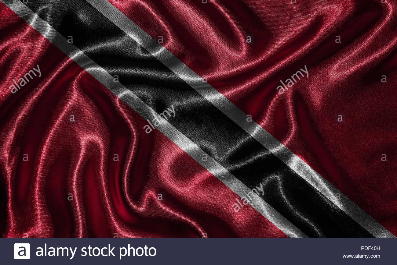 Trinidad and Tobago flag   Fabric flag of Trinidad and Tobago 1300x870