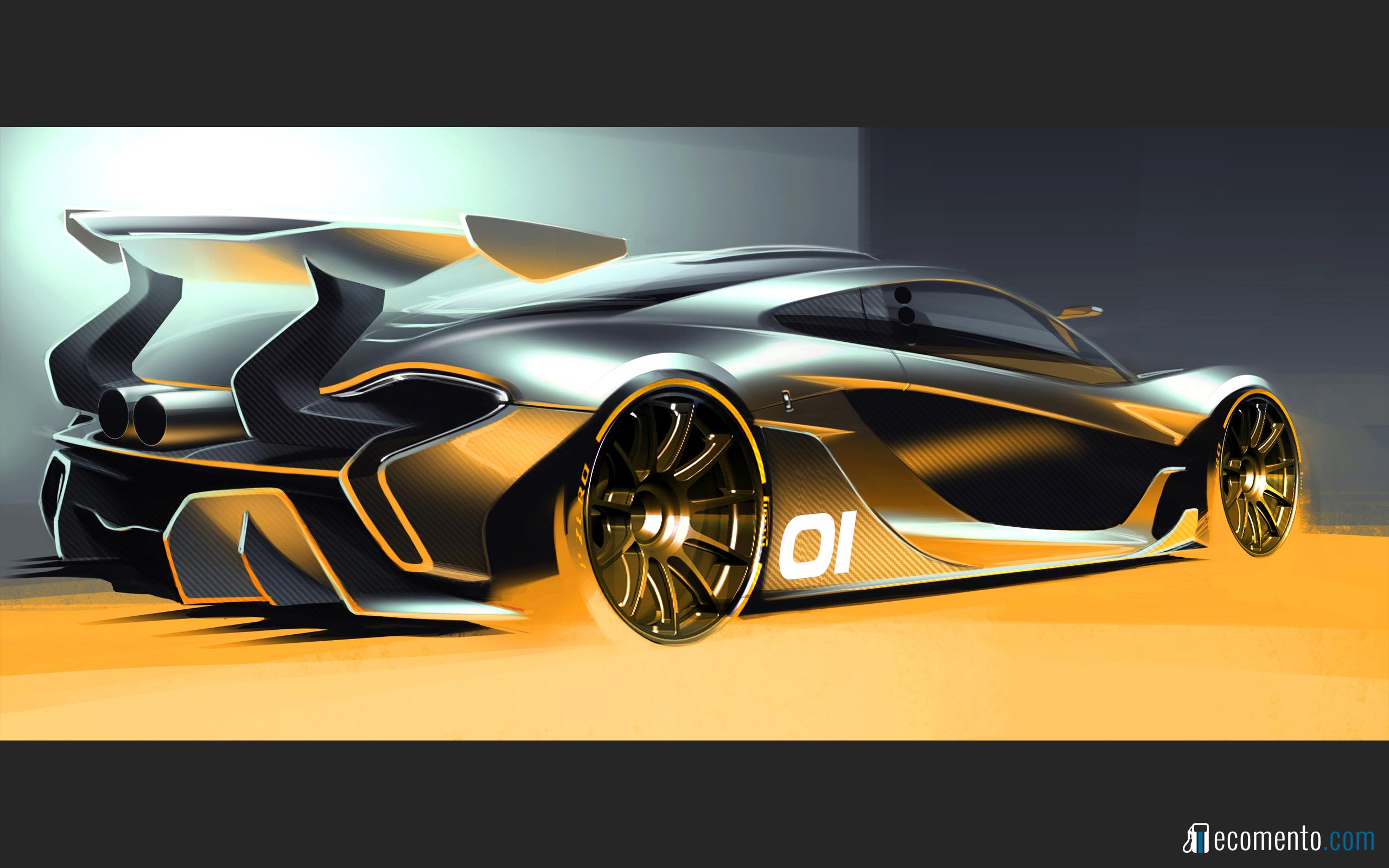 McLaren P1 GTR wallpaperjpg 2560x1600