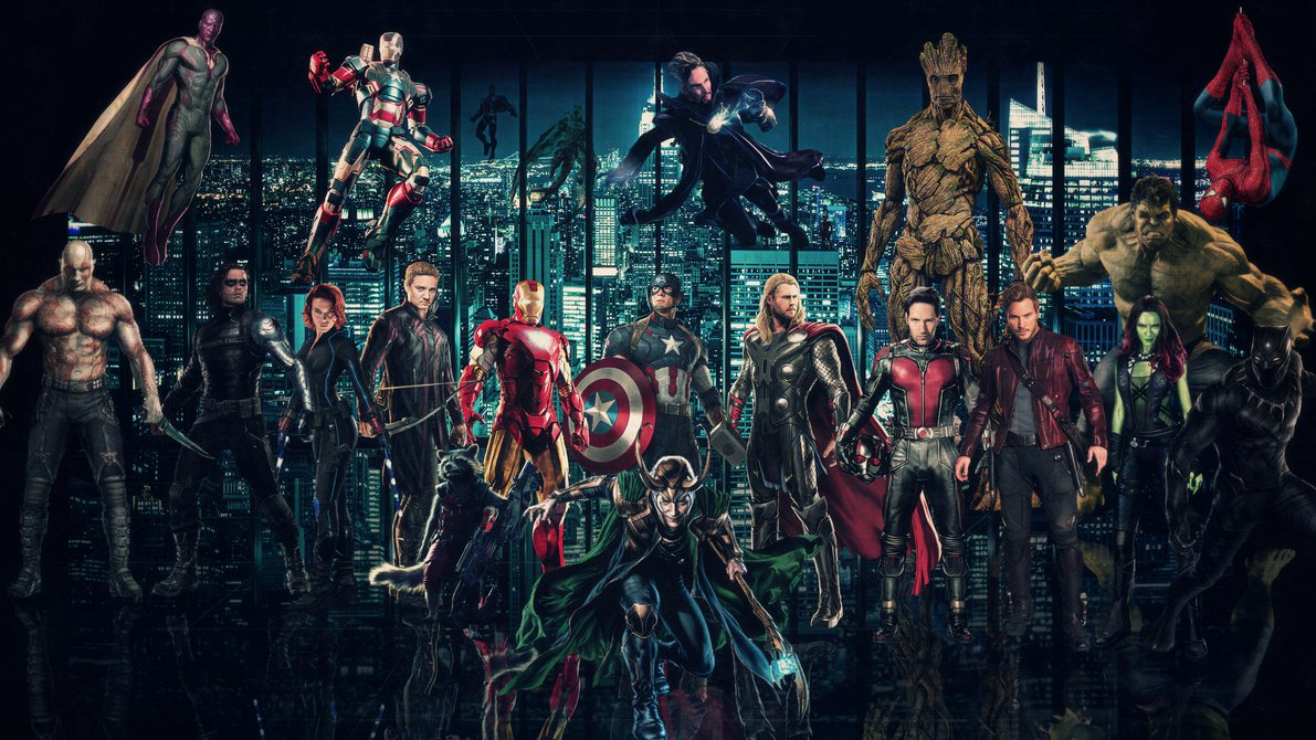 Marvel Cinematic Universe Wallpaper 2 by Theincrediblejake on 1191x670