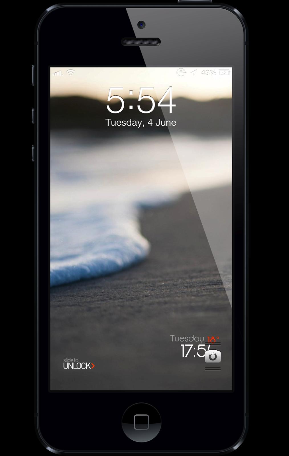 LS Sand A beautiful lock screen theme Nirider 1014x1600