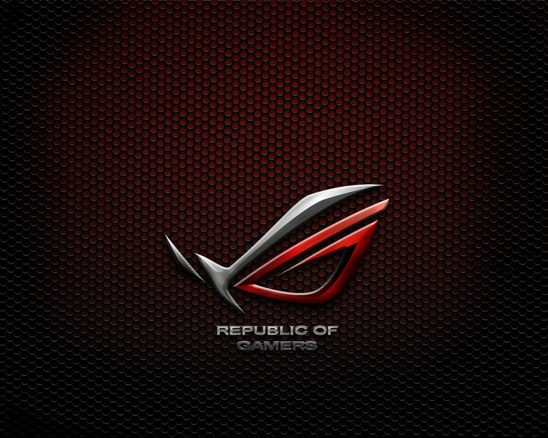 Asus Wallpapers Widescreen: Republic Of Gamers HD Wallpaper