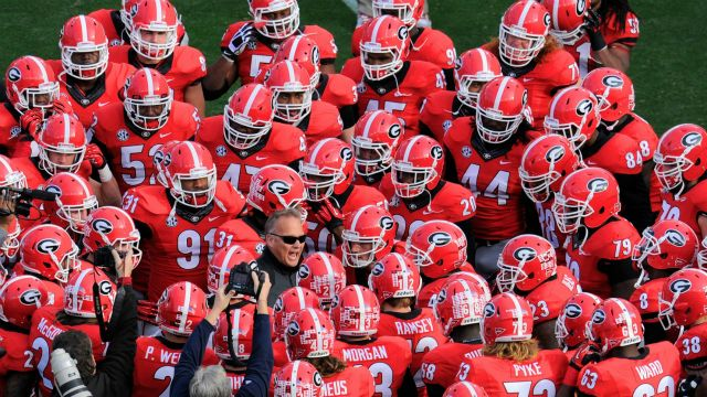 Georgia Bulldogs Football Team Wallpaper Georgia bulldogs football 640x360