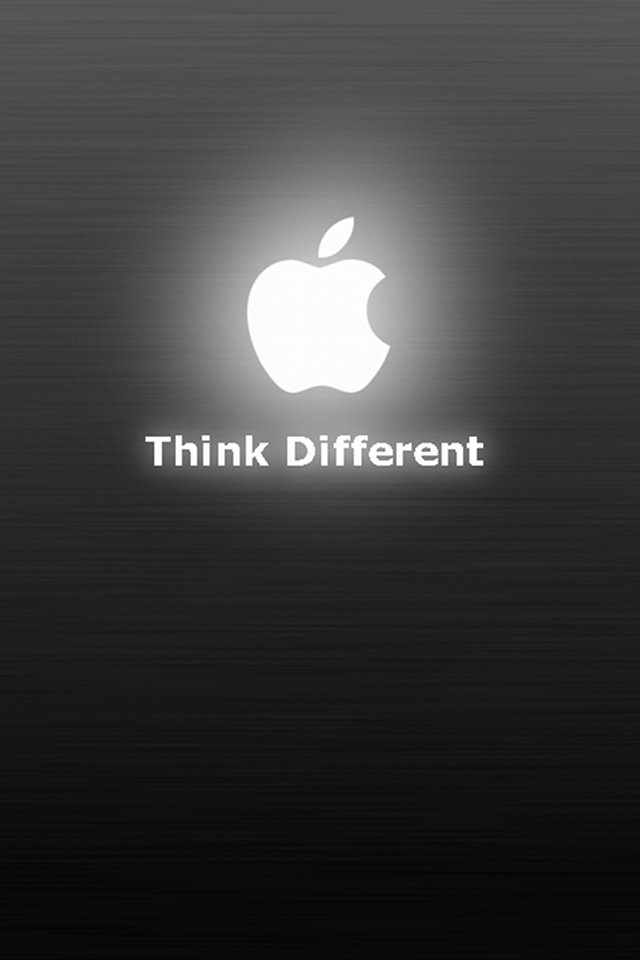 apple case glowing apple stunning wallpaper best one red background 640x960