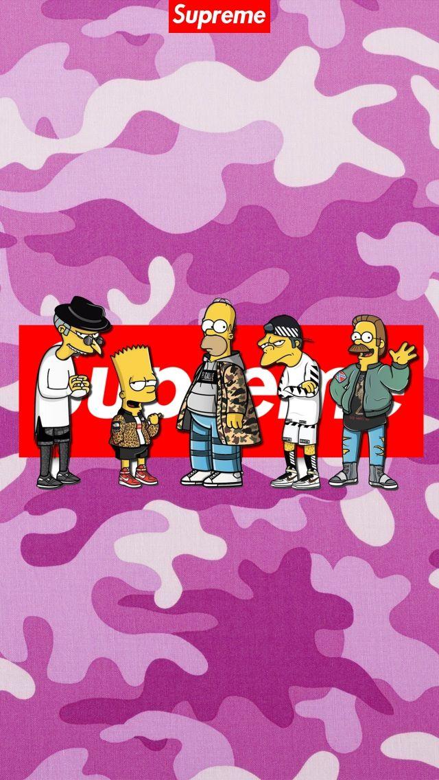 11 Supreme Simpsons Wallpapers On Wallpapersafari