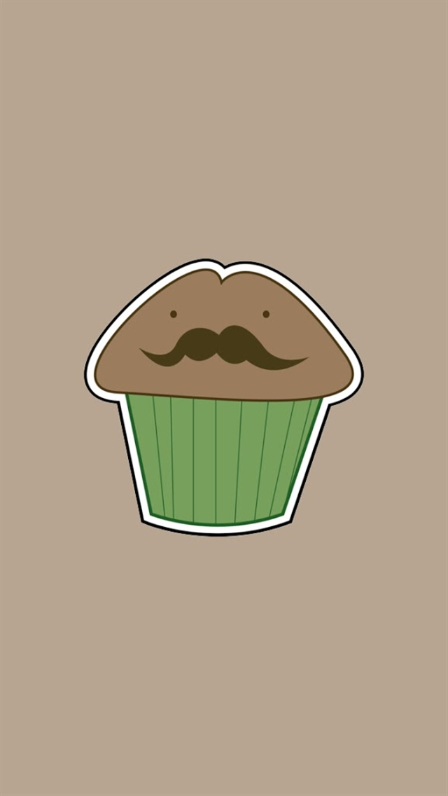 Beard cake iPhone 5 wallpapers 640x1136